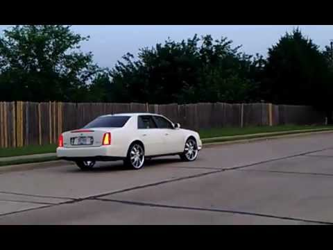 Cadillac Deville on 22s - YouTube