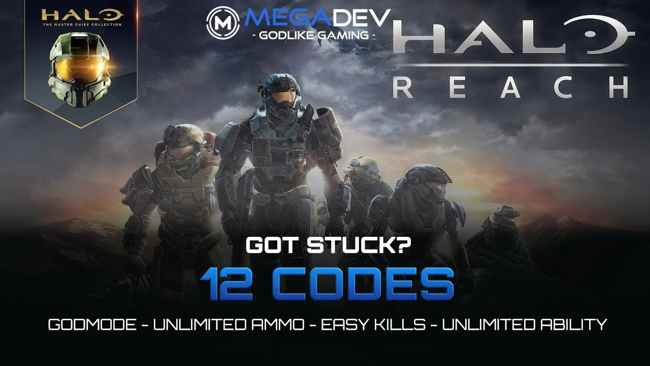 Halo Reach Master Chief Collection Cheats Godmode Easy Kills Trainer By Megadev