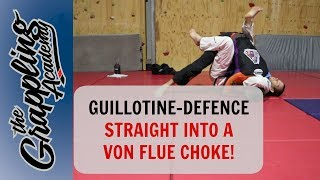 Скачать A Guillotine Defence Straight Into A Von Flue Choke