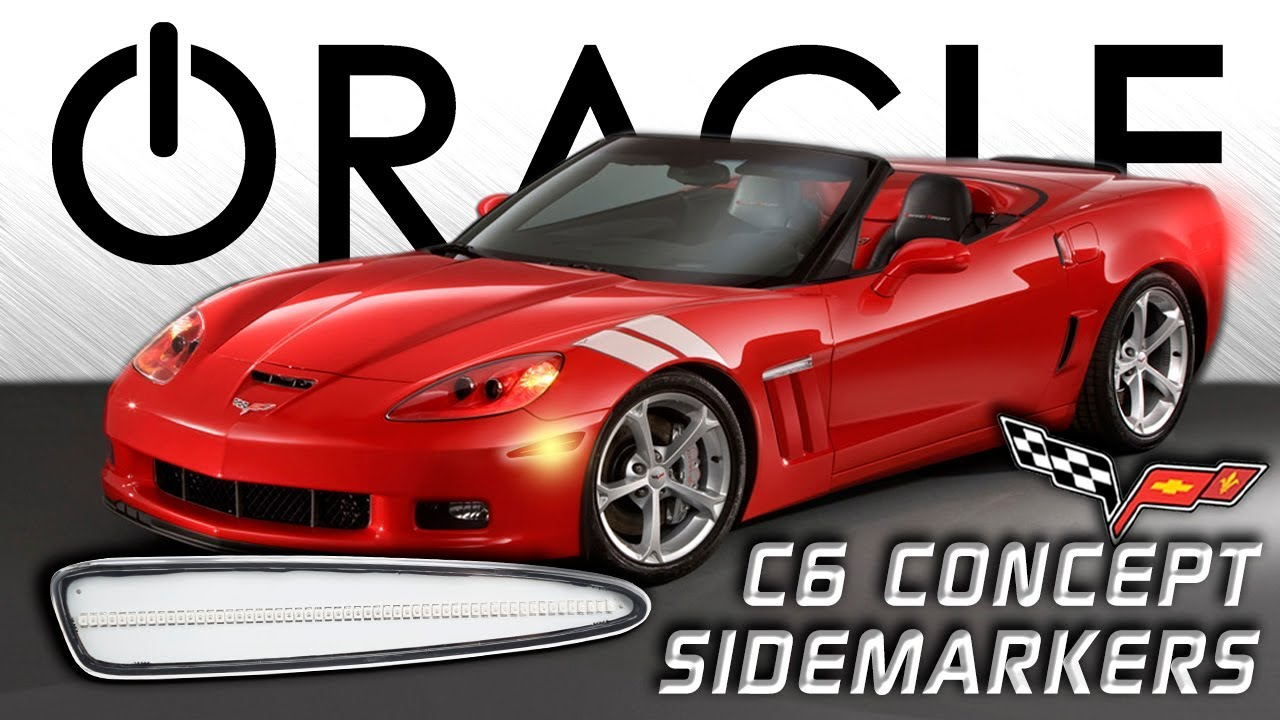 Oracle C6 Corvette Led Side Markers Install Guide