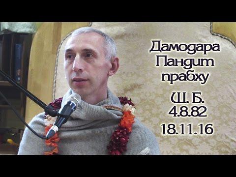 Шримад Бхагаватам 4.8.82 - Дамодара Пандит прабху