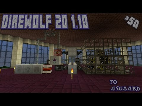 Direwolf 20 1.10 Let's Play Ep. 50: Fuel Rod Processing and Item Replication