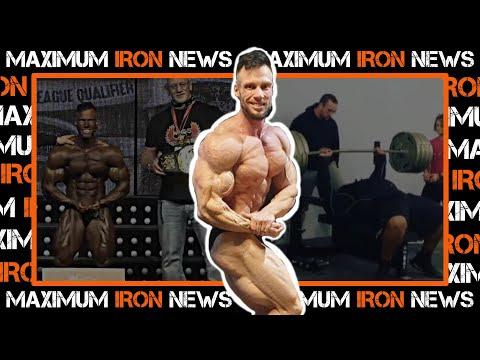 New IFBB Pro   Insane Bench Set   Bodybuilding & Powerlifting News