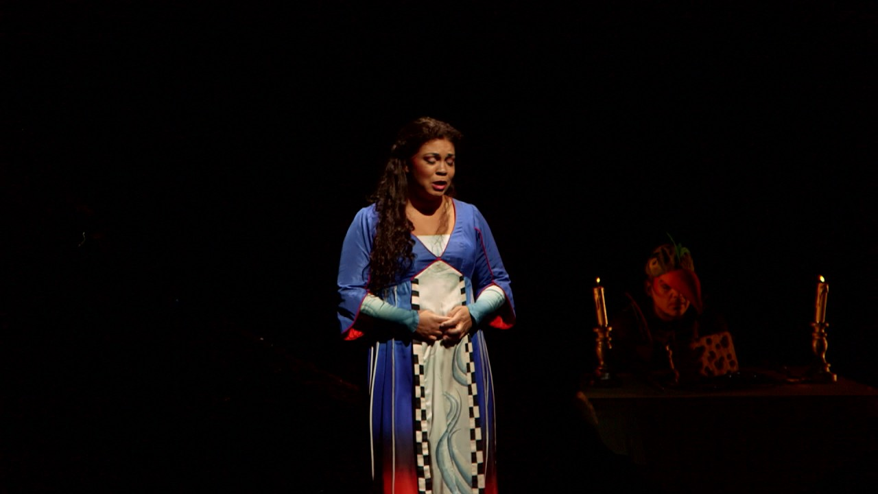 """The Magic Flute: """"Oh, my heart is hung with sadness"""""""