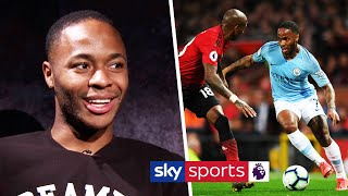 EXCLUSIVE! Raheem Sterling on how his doubters motivate him & his lack of goals vs Manchester United