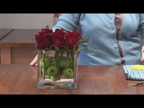 How To Make A Contemporary Flower Arrangement Youtube