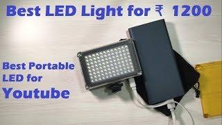 Cheap & Best Portable LED Light for Youtube | DSLR Camera