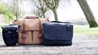 Best Camera Bags: Shoulder and Holster Bags | Transport Your Photography