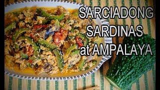 Sarciadong Sardinas With Ampalaya Recipe
