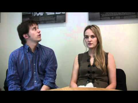 Peter and Vandy  Exclusive: Jason Ritter and Jess Weixler