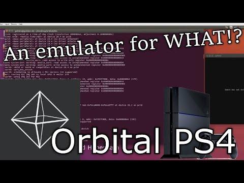 First REAL PS4 Emulator!   Orbital Emulator