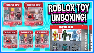 ROBLOX SENT ME A PACKAGE! | Roblox Toys Unboxing Blind Boxes | Roblox Toy Figures Opening & Review