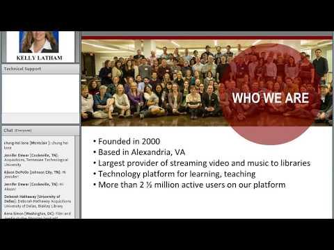 ACRL/Choice Webinars: EBA vs PDA