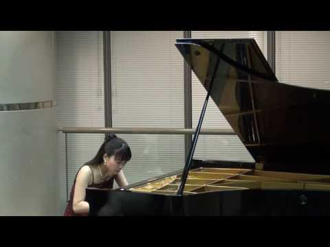 タカーチェ:コンサートエチュード(トッカータ2番)op 120 演奏:桑原怜子