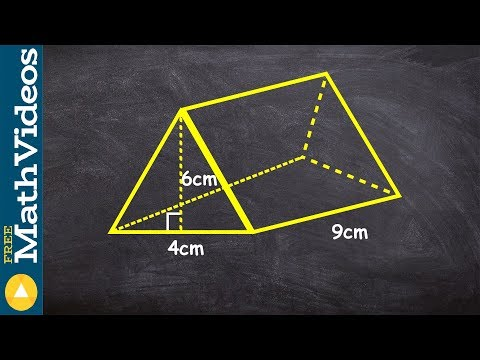How to find the volume of a triangular prism