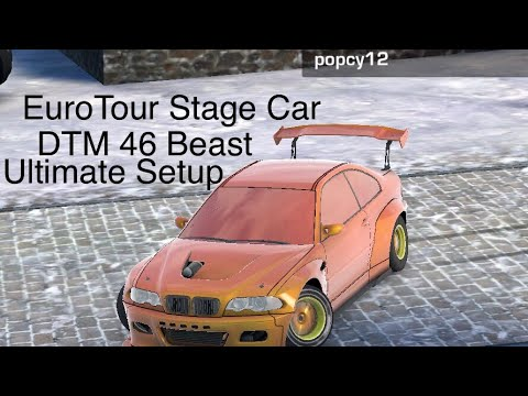 Carx Eurotour Stage Car Dtm 46 Beast Ultimate Setup 30k Castle