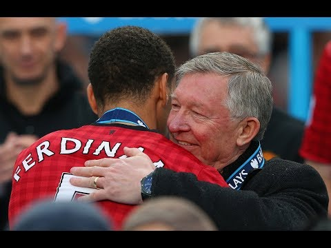 "Rio Ferdinand: ""It wasn't until Sir Alex Ferguson retired that we realised how good he was."""
