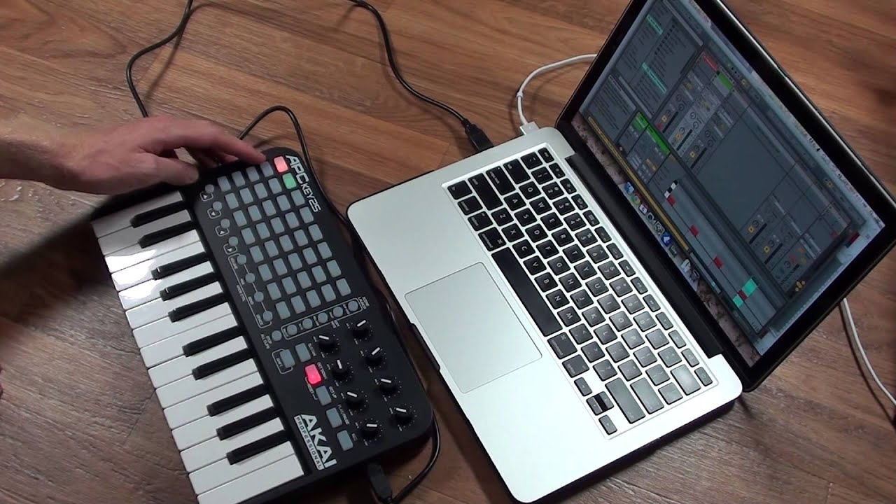 akai apc key 25 unboxing first impressions and demo youtube