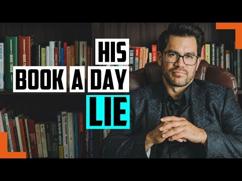 Proof Tai Lopez DOES NOT ACTUALLY Read A Book A Day