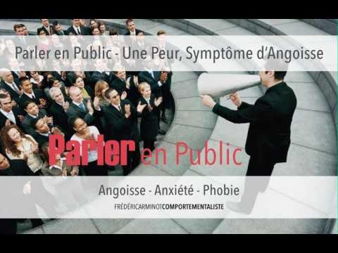 Parler En Public - Une Peur Symptôme d'Angoisse