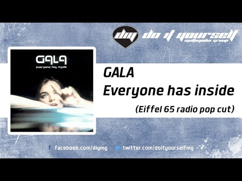 GALA  - Everyone has inside (Eiffel 65 radio pop cut) [Official]