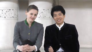 Franziska Hölscher & Kit Armstrong über die Musiktage Feldafing 2021