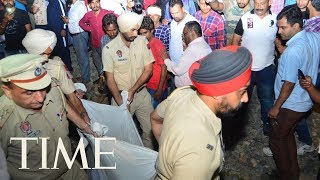 At Least 50 Dead After Train Plows Into Crowd Watching Fireworks In India | TIME