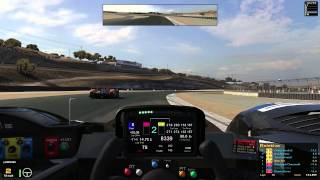 iRacing : A Deceptively Tough Race (HPD @ Laguna Seca)