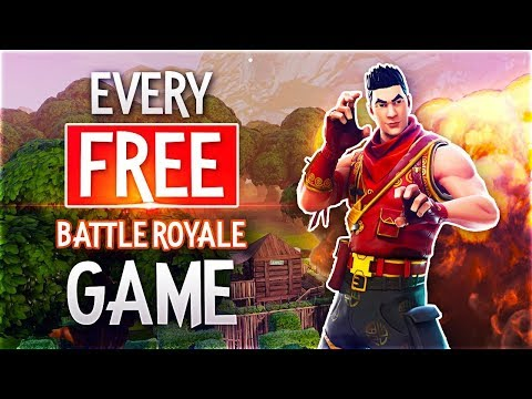 Playing EVERY *FREE* Battle Royale Games!