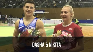 The award ceremony of Nikita & Dasha