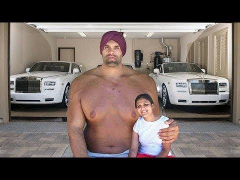 شاهد كيف يعيش 'كالي العظيم' أضخم رجل في العالم !!