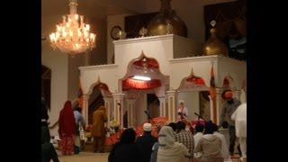 Naam Jaap at Gurdwara Sahib, Fremont, August 25th 2013 (longer excerpt)