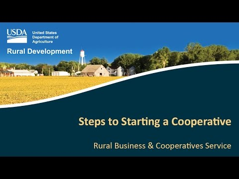 Steps to Starting a Cooperative