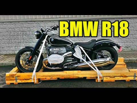 Достаём из коробки новый мотоцикл BMW R18. BMW R18 unboxing