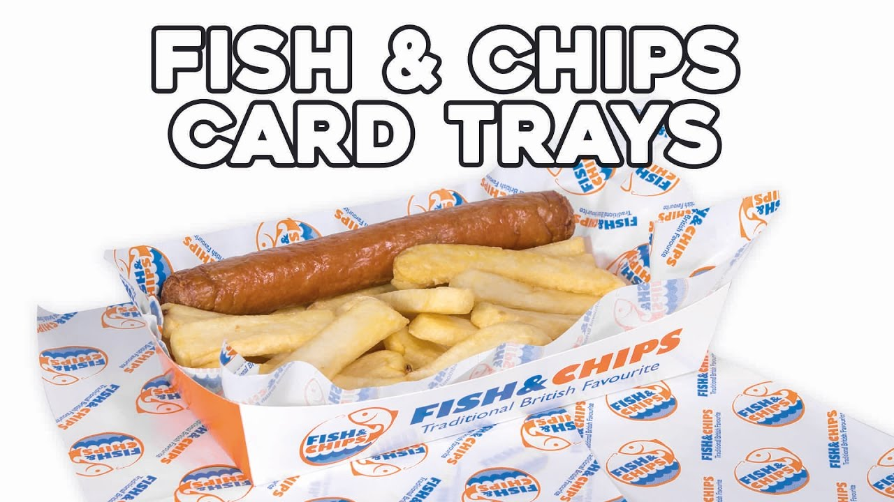 Fish chips card tray youtube for Jj fish and chips