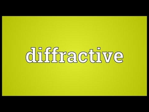 Header of diffractive