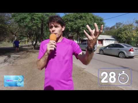 Atletismo / Pablo Barragan - Entrenamiento, entrada en calor