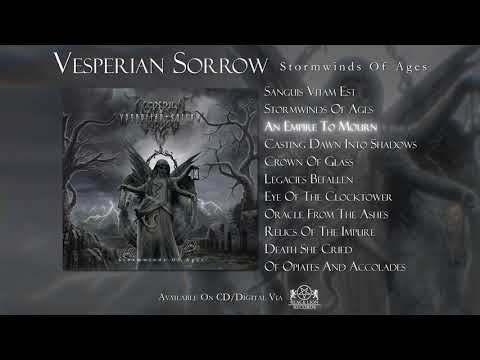 Vesperian Sorrow  - Stormwinds Of Ages ( Full Album Stream )  |  Black Lion Records