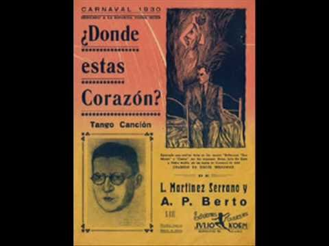 ORQUESTA ANTONIO RODIO - DONDE ESTAS CORAZÓN - TANGO