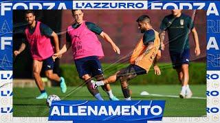 L'allenamento degli Azzurri: gol a ripetizione nella partitella | EURO 2020