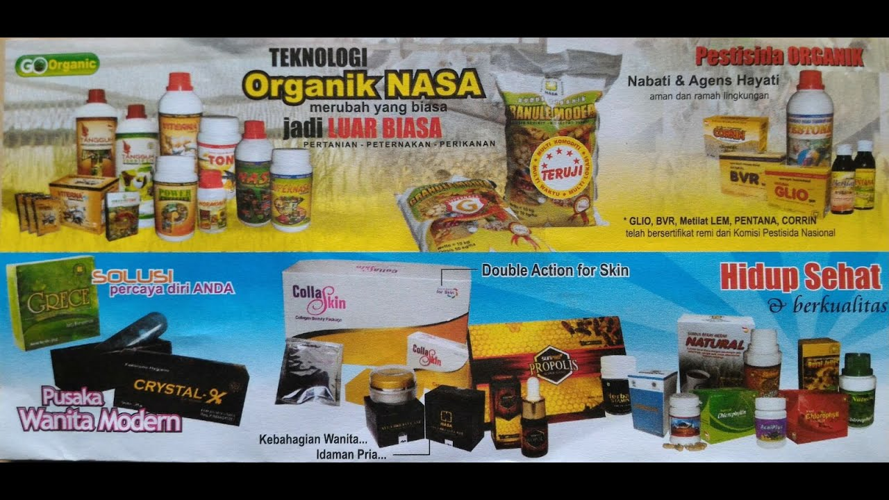 Kunci Pemasaran Produk Nasa 085764808887 Youtube