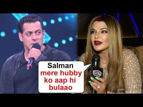 Rakhi Sawant Wants Salman Khan To Call Her NRI Husband On Bigg Boss   Exclusive Interview Mp3