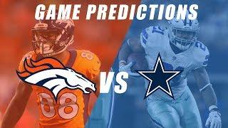 Dallas Cowboys vs Denver Broncos Predictions