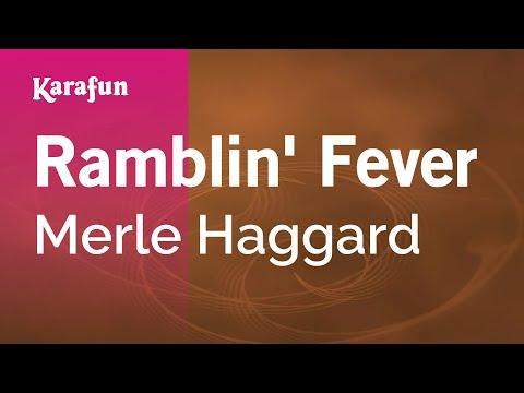 Karaoke Ramblin' Fever - Merle Haggard *