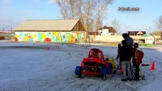 Тренировки детей на багги: до и после