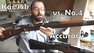 Mauser Kar98k vs Lee-Enfield No.4: Accuracy