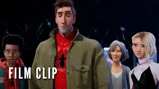 SPIDERMAN INTO THE SPIDERVERSE Clip  Other Spider People