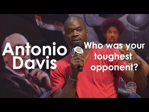 Who was the toughest guy for Antonio Davis to guard?