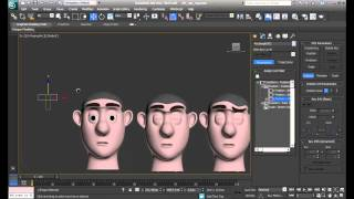 3D Max | Rig 3D Max Morph & Reaction Manager