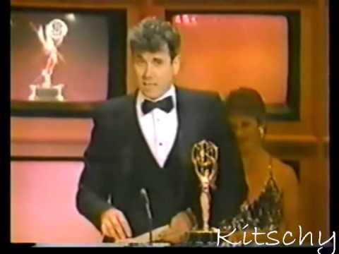 John Larroquette wins 1985 Emmy for Night Court
